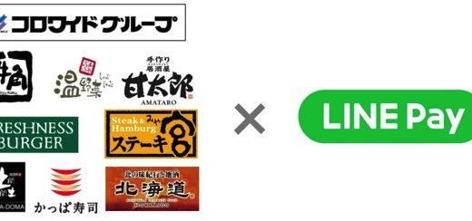 「牛角」や「フレッシュネスバーガー」、東京都の水道料金なども「LINE Pay」で支払いが可能に
