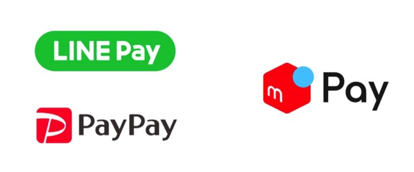 PayPay・LINE Pay・メルペイ