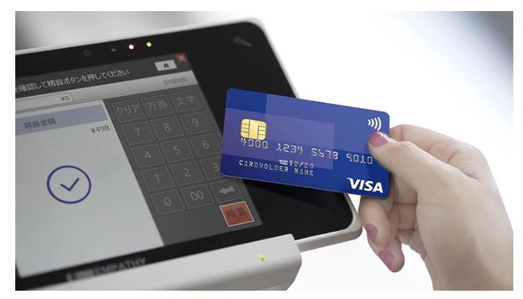 Visaのタッチ決済機能