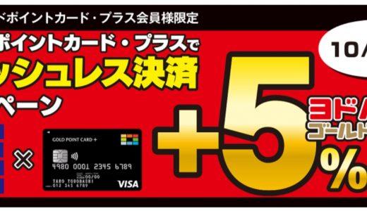 PayPayやLINE Payだけじゃない!ヨドバシのゴールドポイントカード・プラスで15%還元!