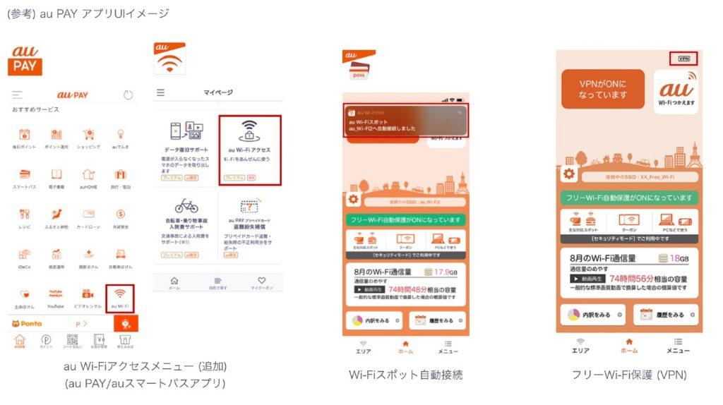 「au Wi-Fiアクセス」の使い方
