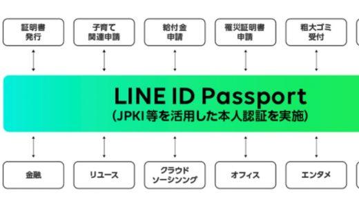 「LINE Pay」で住民票の写しや申請など自治体への手続きなどが可能に