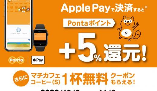 ローソンがApple Payで決済するとプラス5%還元&マチカフェコーヒー無料クーポンがもらえるキャンペーンを開催中!
