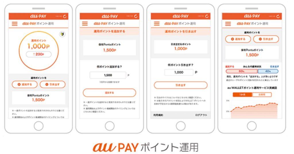 au PAYポイント運用で100Pontaポイントがもらえるキャンペーンを開催中!