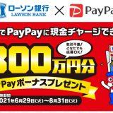 アンケート回答だけで100万円!総額300万円分PayPayボーナスプレゼントキャンペーン